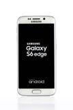 Varna, Bulgarije - April 13, 2015: Studio van wit Samsung wordt geschoten dat Stock Foto's