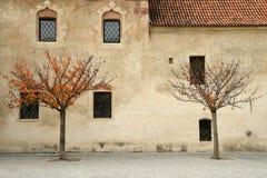 Varna BZ 2 de noviembre de 2017: Abadía de Novacella, el Tyrol del sur, Bressanone, Italia Imagen de archivo