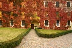 Varna BZ 2 de noviembre de 2017: Abadía de Novacella, el Tyrol del sur, Bressanone, Italia Imágenes de archivo libres de regalías