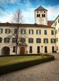 Varna BZ 2 de noviembre de 2017: Abadía de Novacella, el Tyrol del sur, Bressanone, Italia Foto de archivo