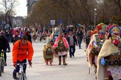 Varna carnival procession,Bulgaria Royalty Free Stock Photos