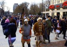 Varna Carnival procession Stock Image