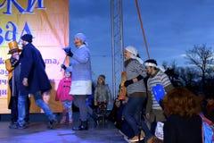 Varna Carnival scene,Bulgaria Stock Photography