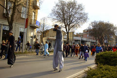 Varna carnival street parade Stock Images