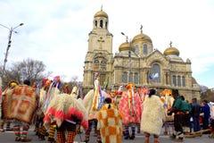 Varna Carnival view Royalty Free Stock Images