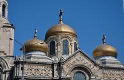 Varna cathedral Royalty Free Stock Images