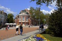 Varna centrum miasta Bułgaria zdjęcia stock