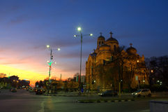 Varna city Cathedral Stock Photography