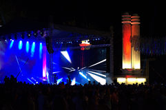 Varna city celebration concert show Stock Photos