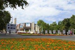 Varna city photographic exhibition Royalty Free Stock Photos