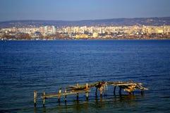 Varna city scenic view,Bulgaria stock image