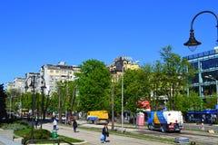 Varna city street view Royalty Free Stock Photo