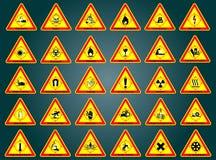 varna för tecken Arkivbild