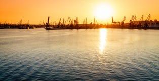 Varna-Hafen Lizenzfreies Stockbild