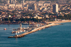 Varna harbour Royalty Free Stock Image