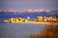 Varna lake view,Bulgaria Stock Image