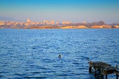 Varna lake view,Bulgaria Royalty Free Stock Images