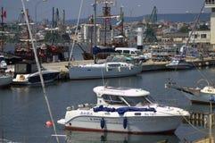 Varna Maritime station,Bulgaria Stock Photo