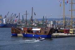 Varna Maritime station,Bulgaria Royalty Free Stock Image