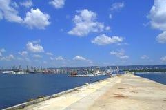 Varna miasta nadbrzeża widok, Bułgaria Zdjęcia Stock