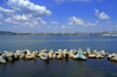 Varna miasta nadbrzeże, Bułgaria Zdjęcia Royalty Free