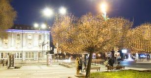 Varna nachts Lizenzfreie Stockfotografie