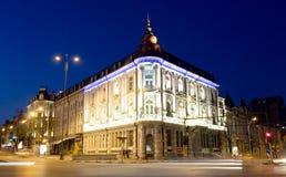 Varna nachts, Bulgarien Lizenzfreie Stockfotografie
