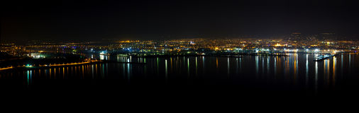 Varna Night Panorama Stock Photo