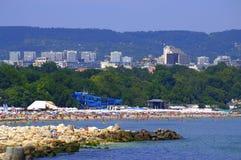 Varna plaża Fotografia Royalty Free