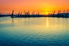 Varna port Zdjęcia Royalty Free