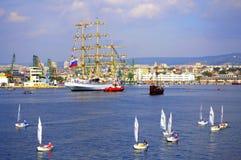 Varna portu widok Bułgaria Obrazy Stock