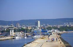 Varna-Stadtansicht, Bulgarien Lizenzfreie Stockfotos