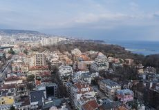 Varna is a town in northeastern Bulgaria Stock Image
