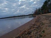 Varnamo lake royalty free stock images