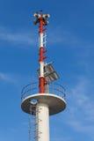 Varnande torn Arkivfoto