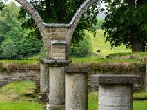 Varnhem monasteru ruiny w Szwecja zdjęcia stock