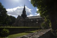 Varnhem monastery church Royalty Free Stock Image