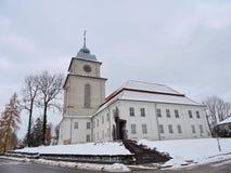 Varniai priest seminary , Lithuania. View of Varniai town  Priest Seminary in Telsiai region, Lithuania Royalty Free Stock Photos