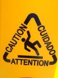 varning royaltyfri fotografi
