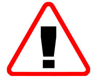 varning royaltyfri illustrationer
