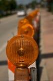 varning för orange ii Royaltyfria Foton