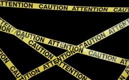 varningsband Royaltyfria Bilder
