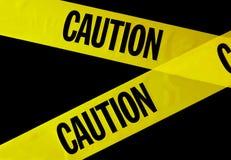 varningsband Arkivbilder