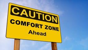 Varningskomfortzonen framåt undertecknar öglan 4K