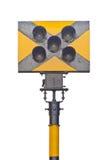 Varningslampa för drev Royaltyfria Foton