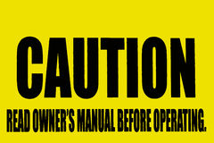 Varningstecken Royaltyfri Bild