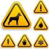 Varningstecken Fotografering för Bildbyråer