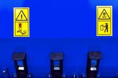 Varningstecken 6 arkivfoton