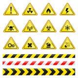 Varningstecken Arkivbilder