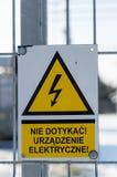 Varningstecken Royaltyfri Foto